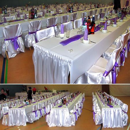 Hochzeitssaal Hochzeitshalle Tischdeko Hochzeit