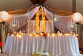 Hochzeitstisch hochzeitssaal hochzeitshallen locations for Dekoration hochzeit russisch