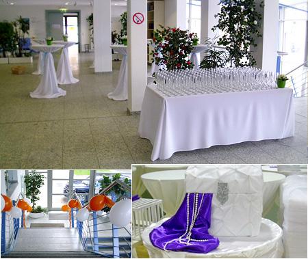 Hochzeitsdekoration - Hochzeitssaal