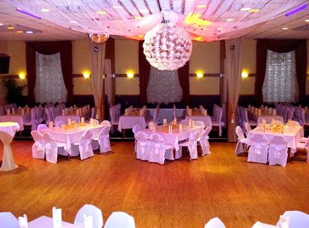 Hochzeit Saal-Dekoration