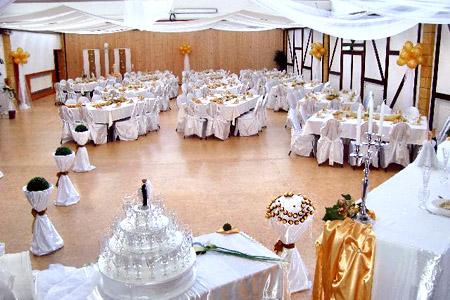 Hochzeitsdeko Tischdeko Saal