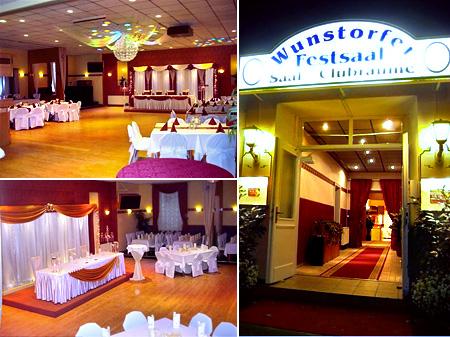 Hochzeitssaal Wunstorf, Kreis Hannover, Minden, Nienburg und Hildesheim