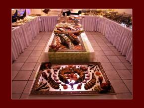 Abendbuffet bei einer Hochzeit - Fischplatten Deluxe