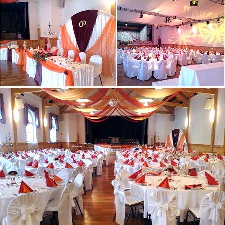 Hochzeitshalle mieten hochzeitssaal hochzeitshallen for Dekoration hochzeit mieten