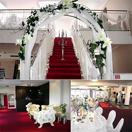 Hochzeitsdeko Empfang
