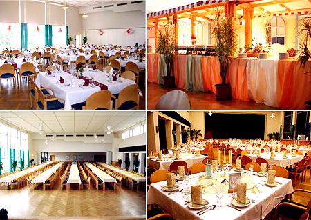 Hochzeitslocation Veranstaltungsraum Saal für Hochzeiten