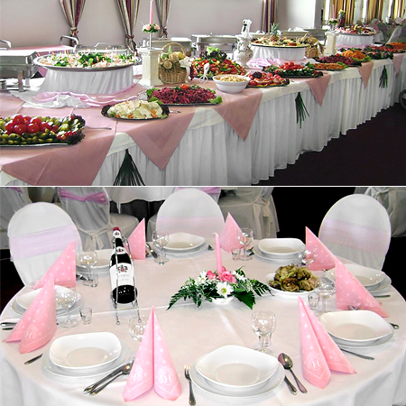 Veranstaltungssaal Dekoration Catering