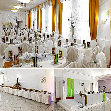 Brauttisch / Hochzeitstisch - Tischdeko
