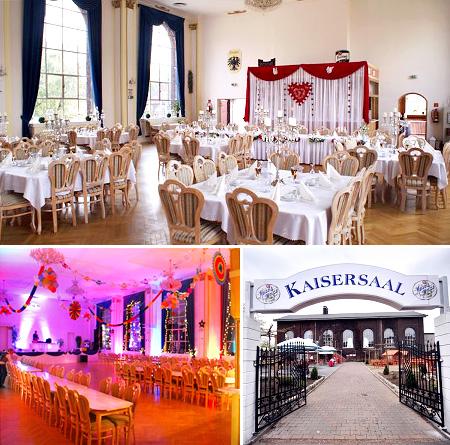 Hochzeitssaal Festsaal Keisersaal in Herne