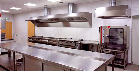 Moderne Küche, Hochzeitshalle
