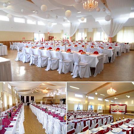 Tischdekoration Hochzeit-Dekoration