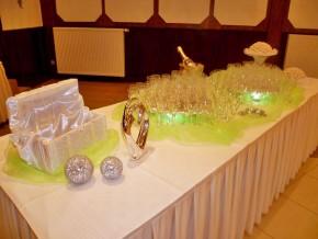 Empfangstisch - Hochzeit