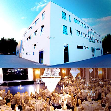 "Festsaal, Hochzeitssaal ""Class"" in Hamburg"