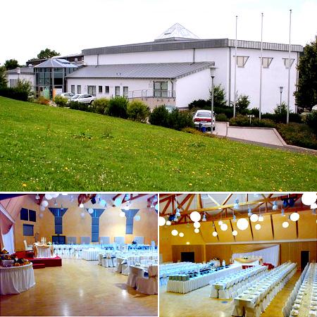 """Hochzeitssaal, Hochzeitshalle - """"Baldenauhalle"""""""