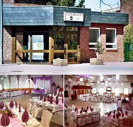 """Partyraum & Festsaal/Hochzeitssaal """"Adlersaal"""""""