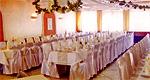 Saal + Hochzeitsdekoration