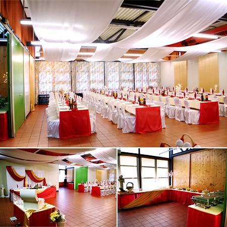 Saal für Hochzeiten, Festsaal in Rosenheim