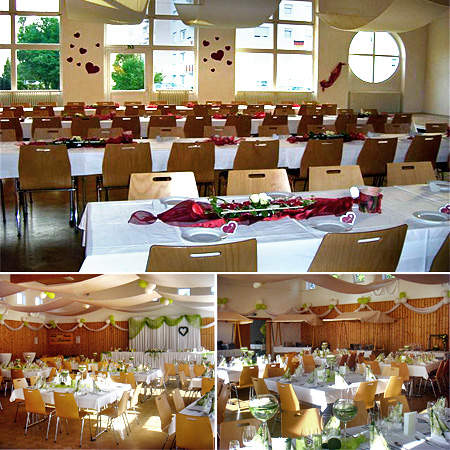 Hochzeitslocation Schwäbisch Gmünd - Festsaal