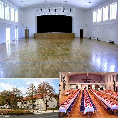 Hochzeitssaal Authenrieth Halle
