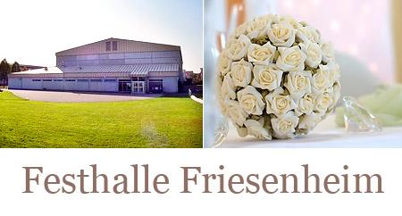 """Hochzeitssaal """"Festhalle Friesenheim"""" - Umgebung Offenburg, Gengenbach, Lahr/Schwarzwald"""