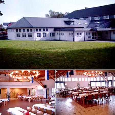 """Hochzeitssaal """"Hubertussaal"""" in Brilon - Umgebung Soest, Lippstadt, Paderborn"""