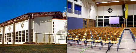 """Hochzeitssaal """"Schefflenzhalle"""" - Umgebung Mosbach, Bad Friedrichshall, Neckarsulm"""