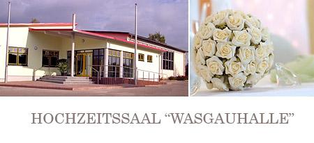 """Hochzeitssaal """"Wasgauhalle"""" Raum Landau in der Pfalz, Karlsruhe"""