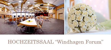 """Hochzeitssaal """"Windhagen Forum"""" - nähe Bonn, Siegburg, Bad Honnef"""