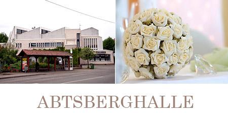 Raum für Hochzeit Offenbach Abtsberghalle
