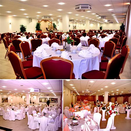 Festsaal Ariana - Hochzeit, Tischdekoration