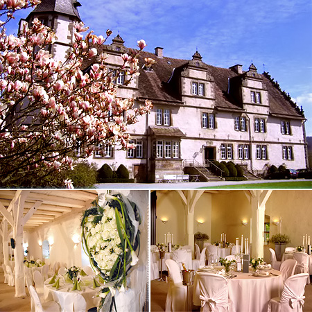 Festsaal, Hochzeitslocation - Schloss Wendlinghausen