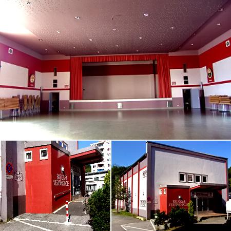 Festsaal Hochzeitslocation in Lüdenscheid Brügger Vereinshalle