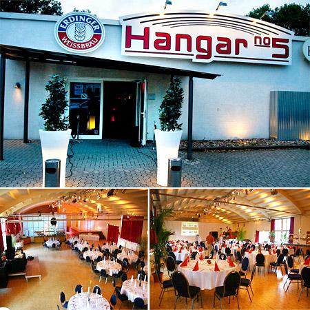 """Hochzeitslocation """"Hangar 5"""" Hannover"""