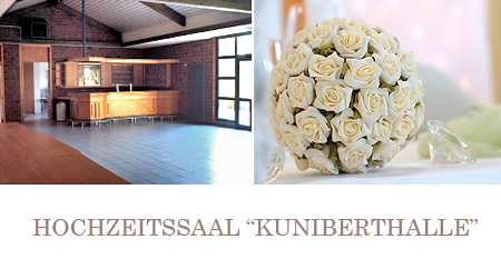 """Hochzeitssaal """"Kuniberthalle"""" in Werl - Raum Unna, Menden, Hamm"""