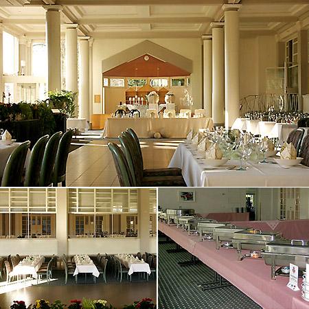 """Hochzeitssaal """"Kurhaus"""" in Bad Salzuflen - Umgebung Lemgo, Detmold, Bielefeld"""