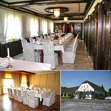 """Hochzeitssaal """"Restaurant Brinkkrug"""" in Lage - Raum Lemgo, Detmold, Bad Salzuflen"""