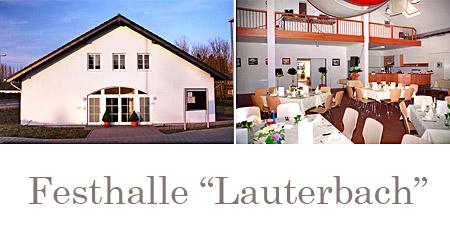 """Hochzeitssaal """"Festhalle Haus Lauterbach"""" in Sankt Augustin"""