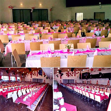 Partyraum Saal Landskroner Festhalle