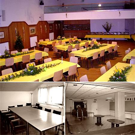 Saal für Hochzeiten und Feiern in Bonn