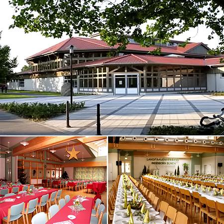 """Saal für Hochzeiten """"Sälzerhalle"""""""