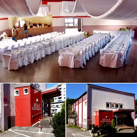 """Festsaal, Hochzeitslocation in Lüdenscheid - """"Brügger Vereinshalle"""""""