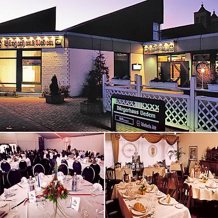 """Hochzeitslocation, Festsaal """"Bürgerhaus Uedem"""""""