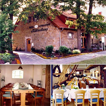 """Hochzeitslocation """"Landgasthof Mühlenkamp"""""""