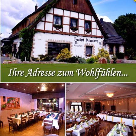 """Hochzeitslocation in Ibbenbüren - """"Gasthof Dickenberg"""""""