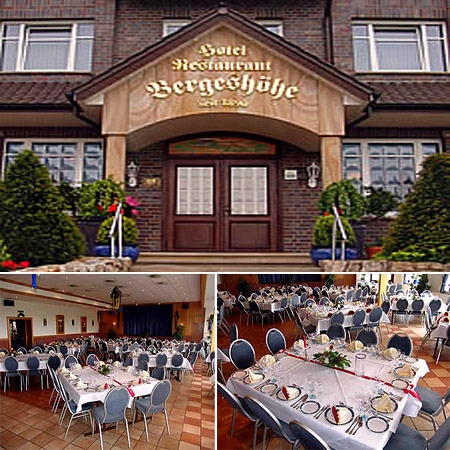 "Hochzeitssaal ""Bergeshöhe"" - Umgebung Osnabrück, Ibbenbüren, Wallenhorst"