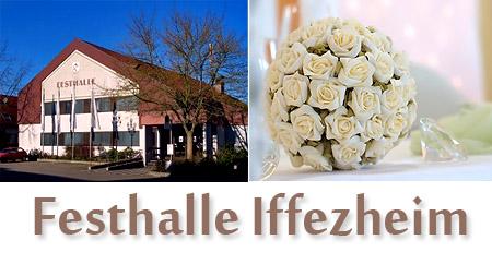 """Hochzeitssaal """"Festhalle Iffezheim"""" - Umgebung Rastatt, Baden-Baden, Bühl"""