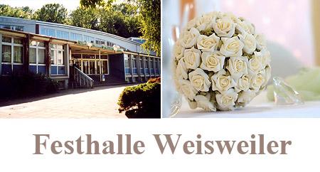 """Hochzeitssaal """"Festhalle Weisweiler"""" in Eschweiler"""
