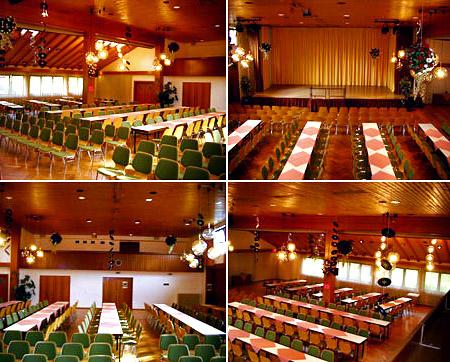 """Hochzeitssaal """"Klosterkeller Festhalle"""" - Raum Pforzheim, Baden-Baden, Tübingen"""