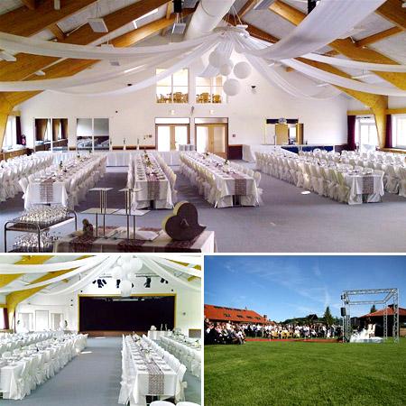 """Saal & Location für Hochzeiten """"Exter Eventcenter"""""""