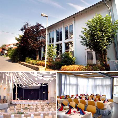 Saal für Hochzeiten / Festhalle Unterriexingen